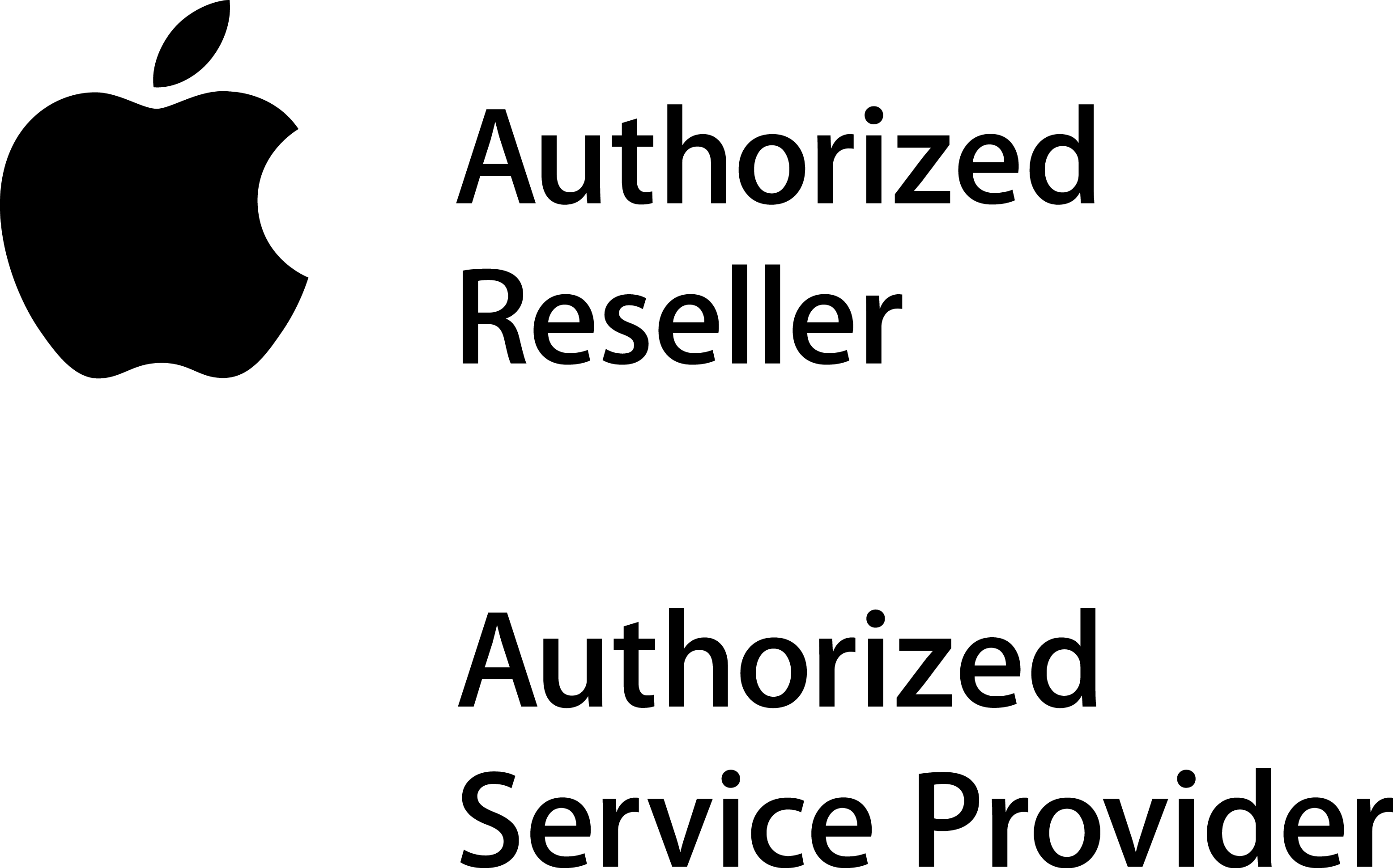 Apple Authorized Reseller and Authorized Service Provider logo
