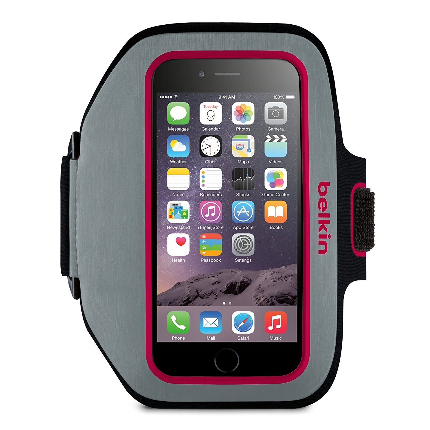 outlet store c342e 463c8 Belkin Sport-Fit Plus Armband for iPhone 6/6S & 7 ( Fuschia)