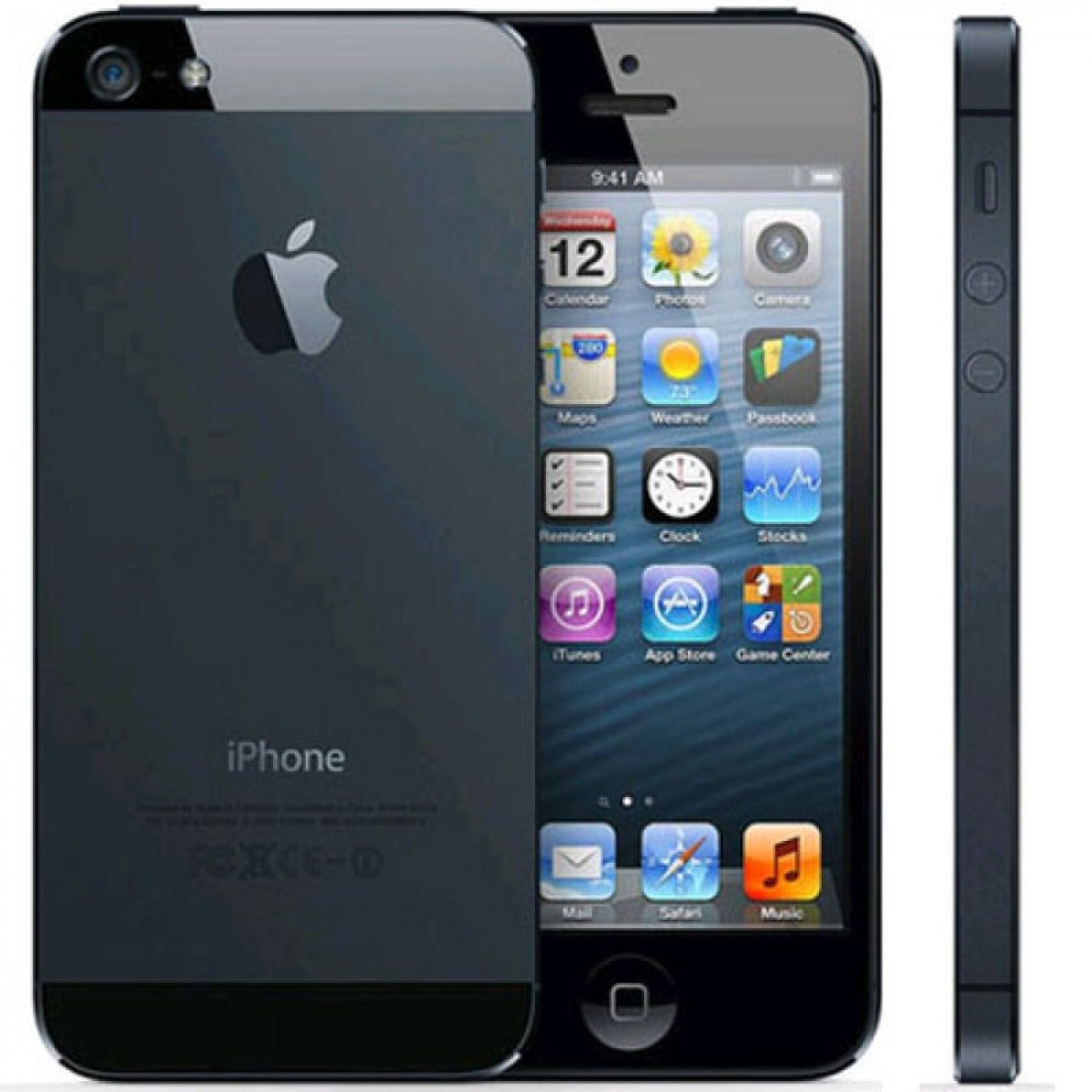 Used Iphone 5 Black 16 Gb Gsm Mac Ave